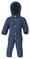 overall fleece blau